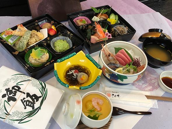 御法事料理膳 / 釜飯付き