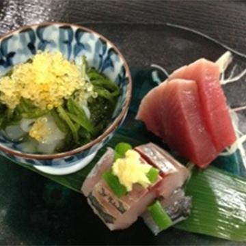 宴会料理、本日のお刺身