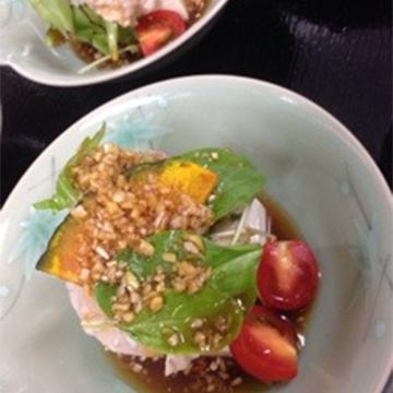 伊達桜ポークの冷しゃぶサラダ