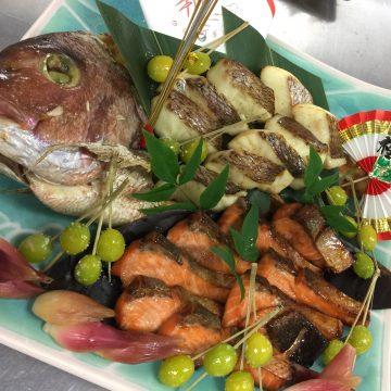 祝い鯛の姿焼き